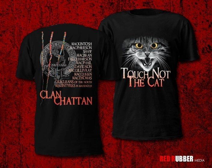 photo of Clan Chattan Custom T-shirts for men